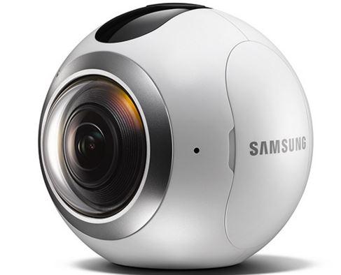 Samsung Gear 360 objectif