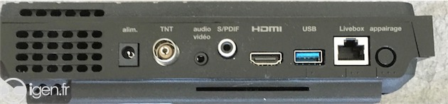nouvelle box orange decodeur tv arrière