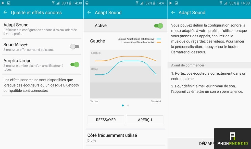 samsung galaxy a5 2016 qualite audio