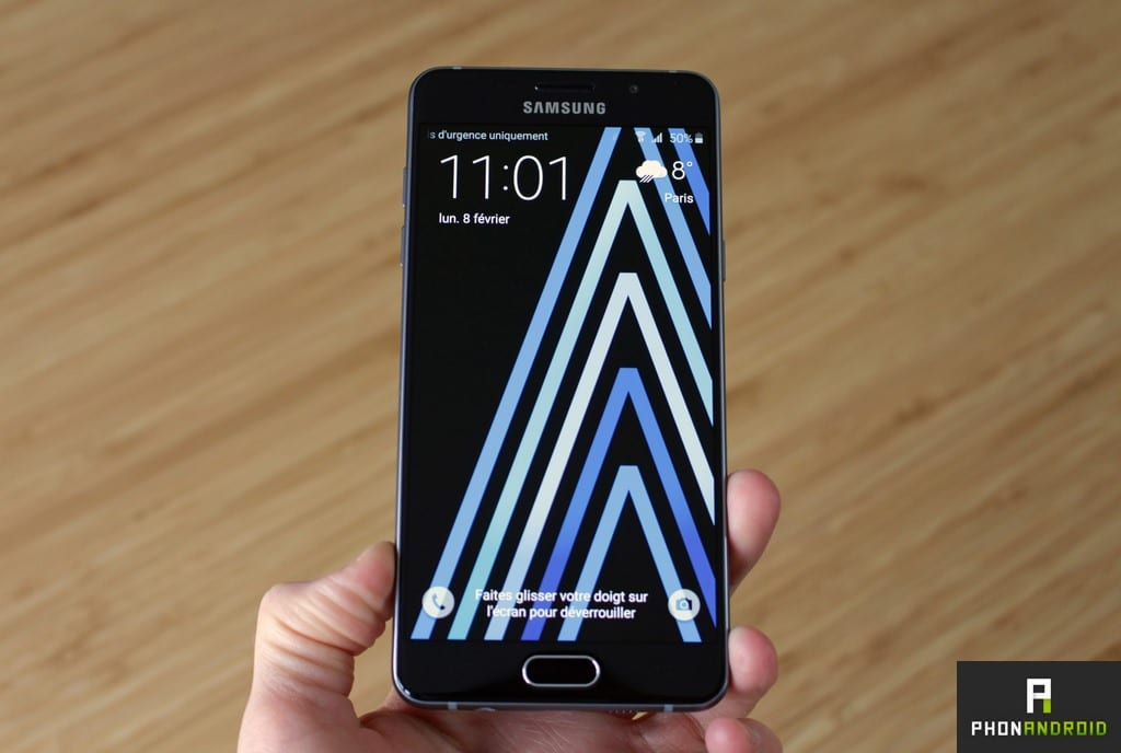 samsung galaxy a5 2016 verrouillage