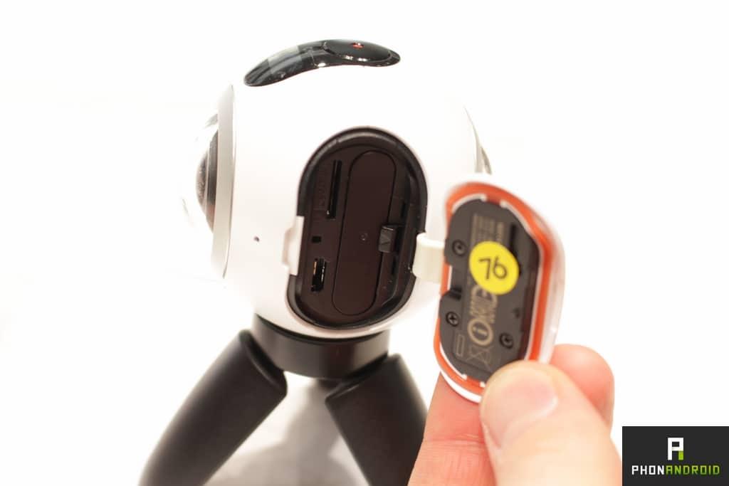 Samsung Gear 360 trappe