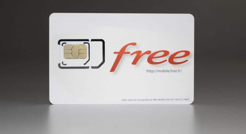 demander une carte sim nano free
