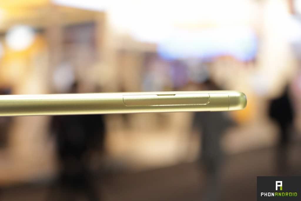 Sony Xperia XA micro SD