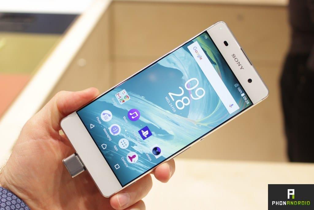 Sony Xperia XA prise en main
