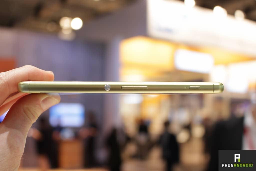 Sony Xperia XA tranche