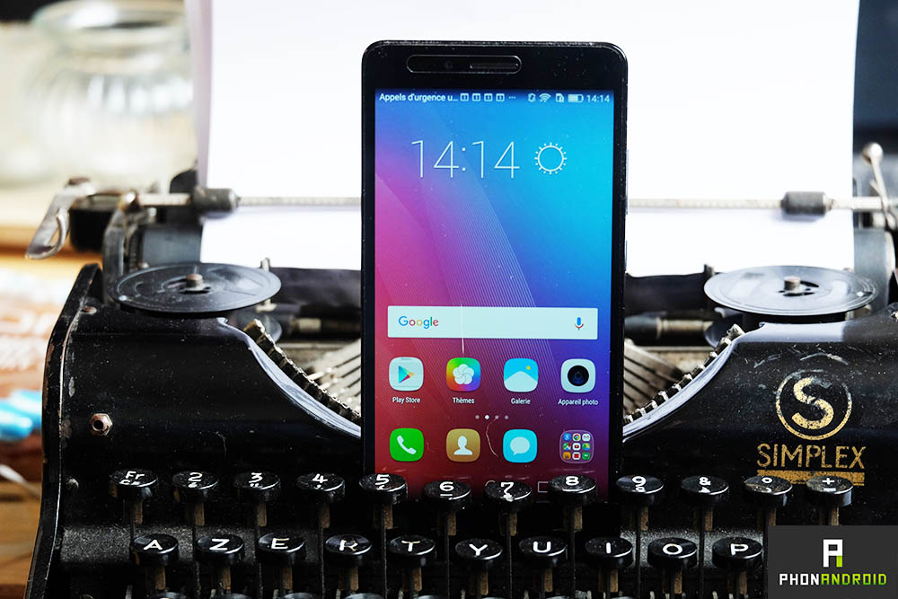 test honor 5X display