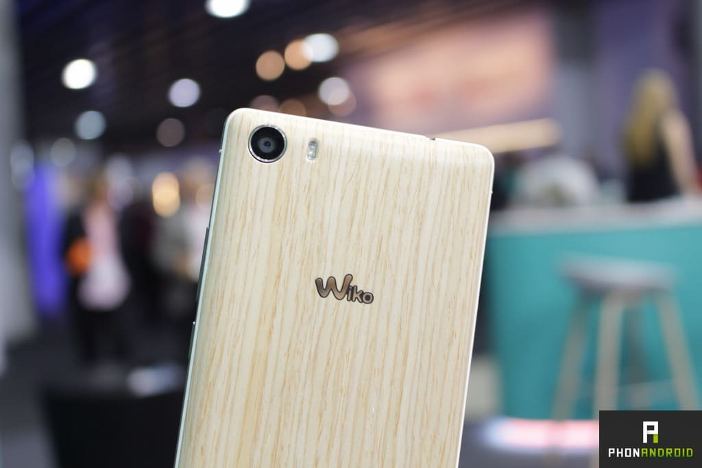Wiko Fever Special Edition camera