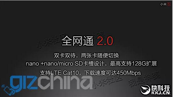 Xiaomi Mi5 micro SD