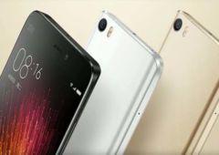 Xiaomi Mi5 coloris