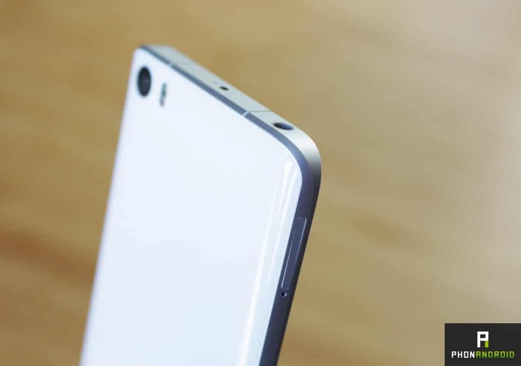 Xiaomi Mi5 epaisseur