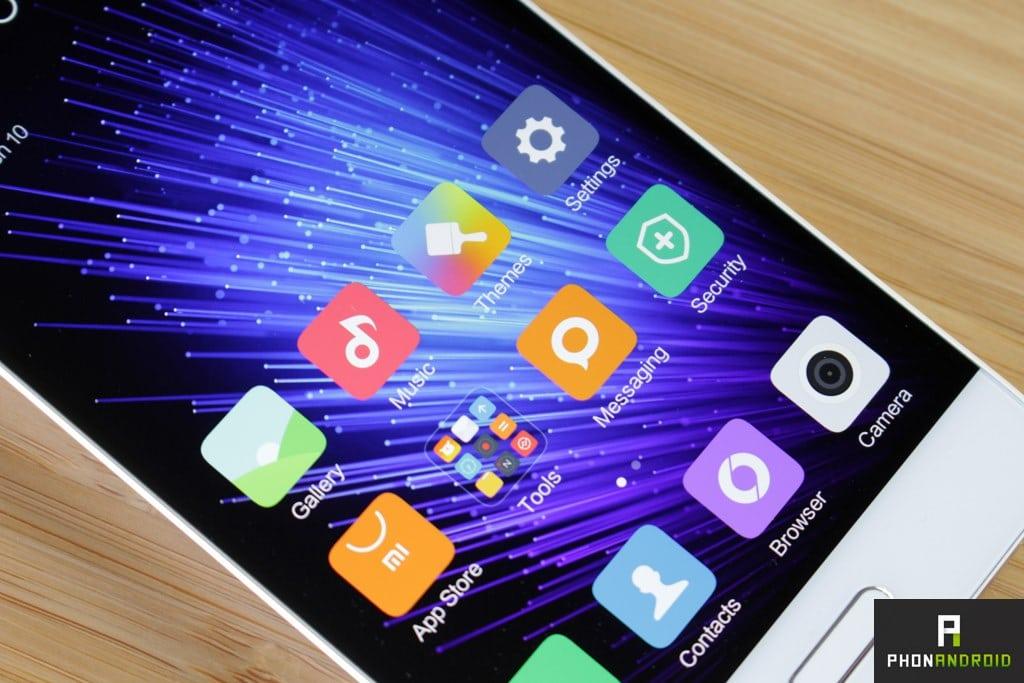 Xiaomi Mi5 ecran