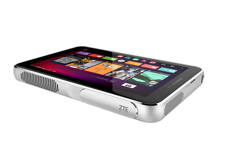 zte spro plus retroprojecteur