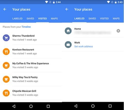 Google-maps-adresses