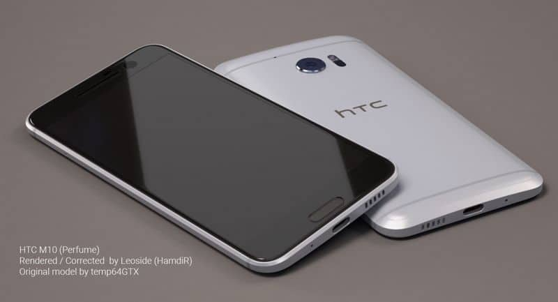 HTC 10 concept design