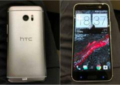 HTC 10 fuite avant arriere