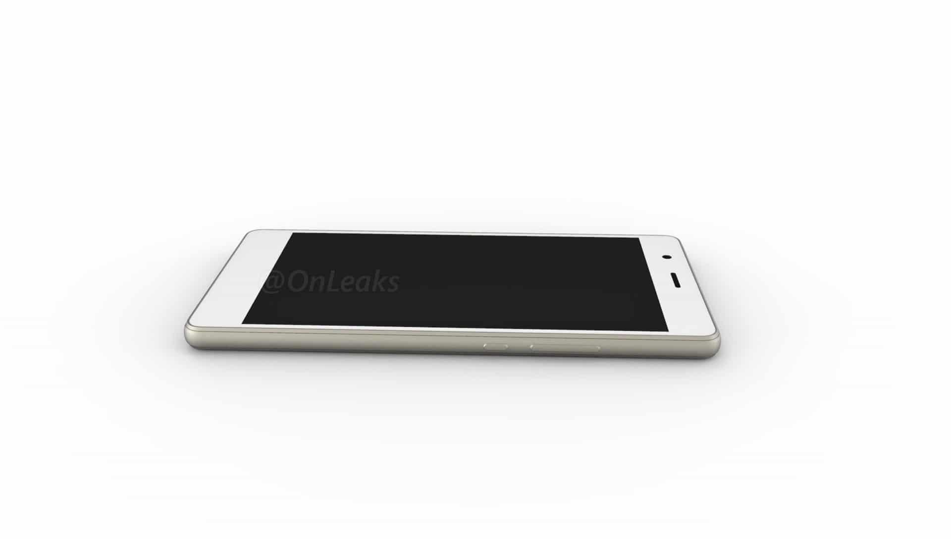 Huawei P9 Lite cote