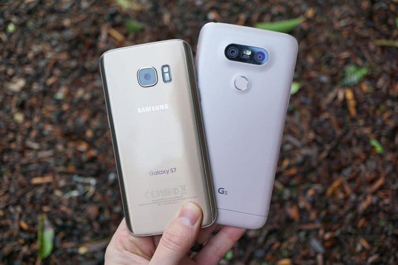 LG G5 Galaxy S7