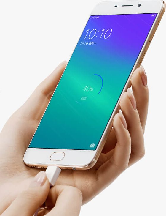 Oppo R9 recharge rapide