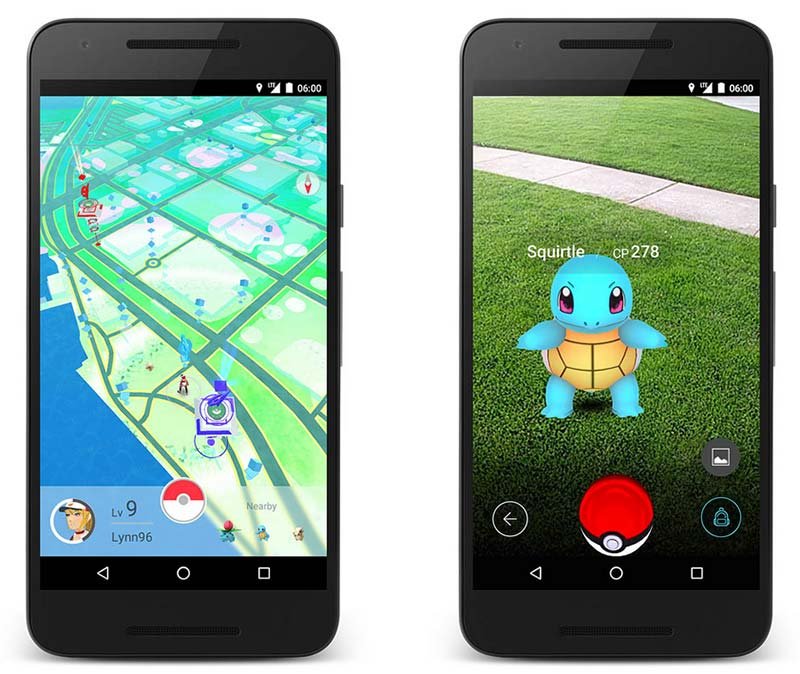 Pokémon Go images officielles