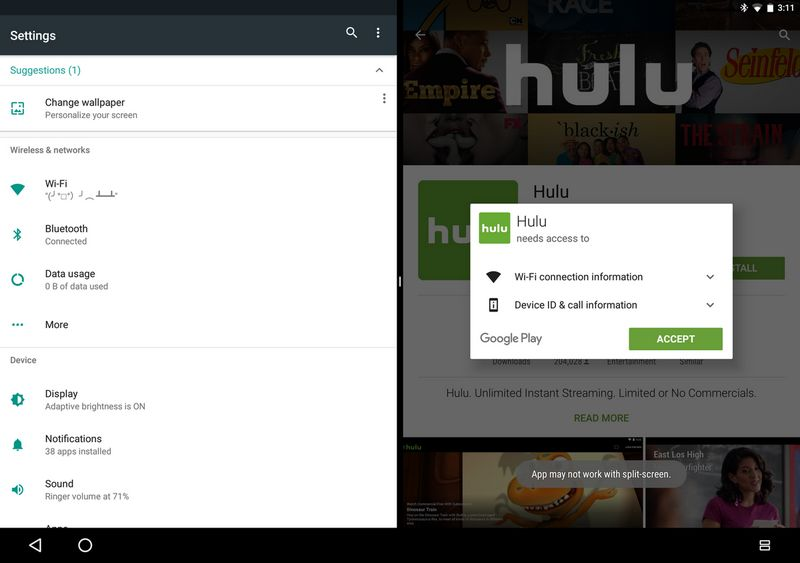 android n multifenetres