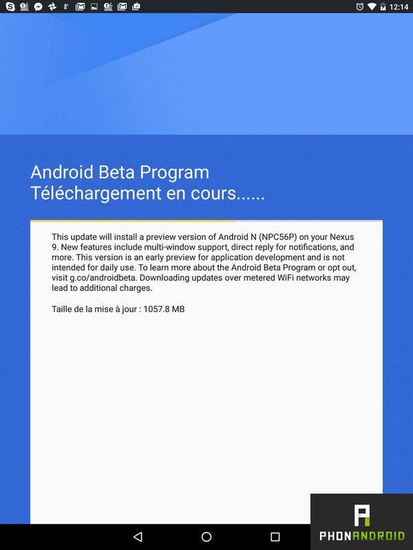 Android N OTA