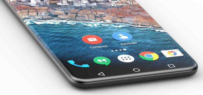 concept smartphone incurve
