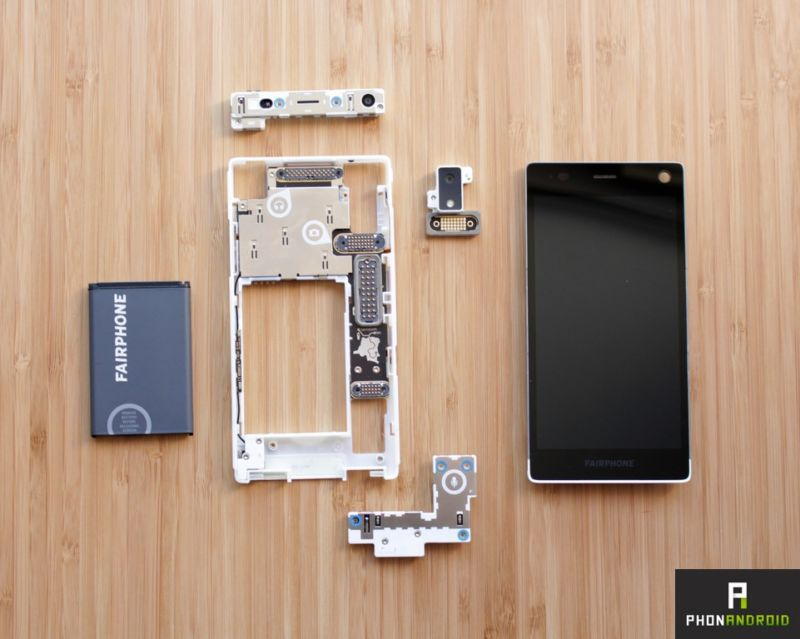 fairphone 2 montage demontage