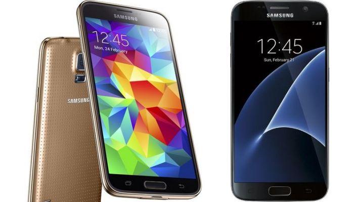 Galaxy S5 Galaxy S7