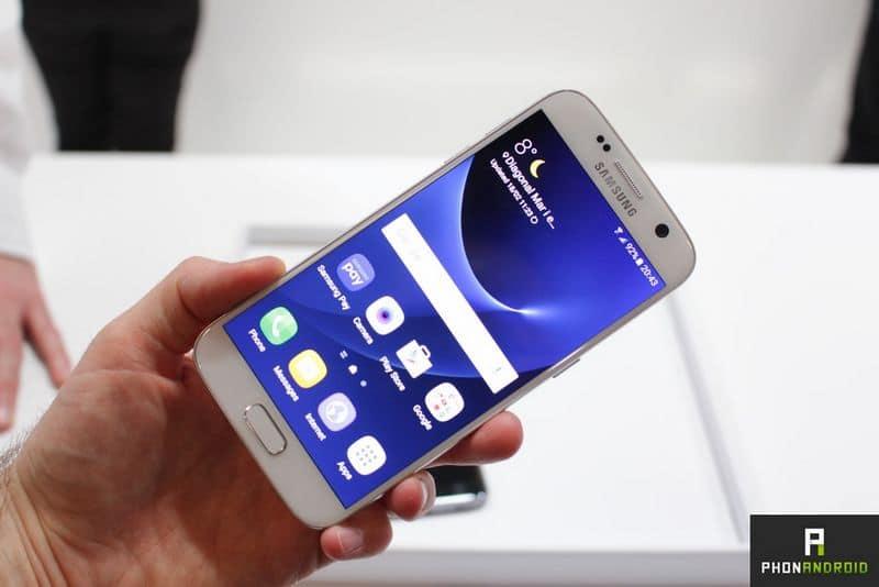 Galaxy S7 defauts