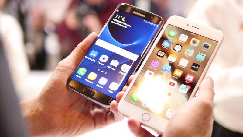 Galaxy S7 Edge iPhone 6S Plus