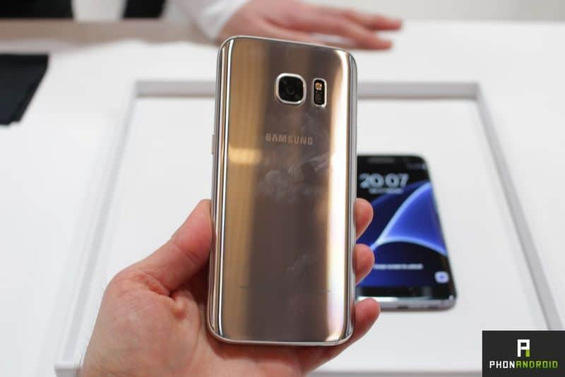 Galaxy S7 traces doigts