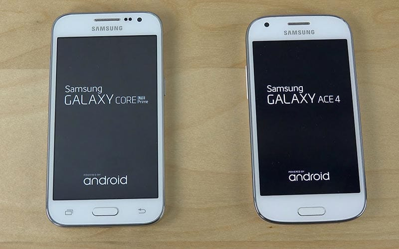 Galaxy Core Prime et Ace 4