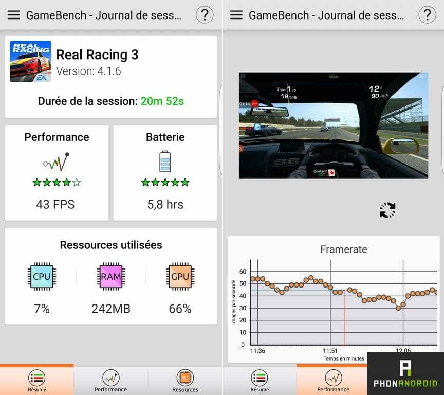 galaxy s7 edge performance 3d jeu