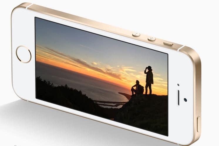 iphone se blanc