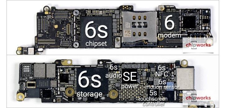 iphone-se-composants