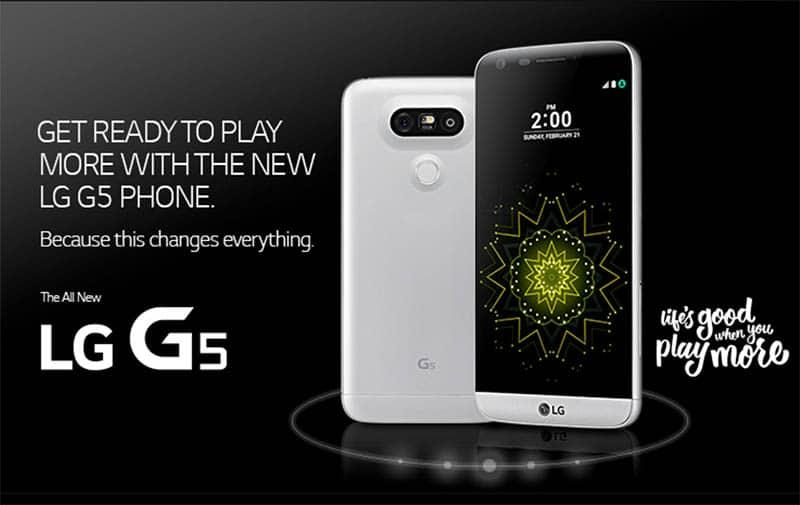 lg g5 slogan