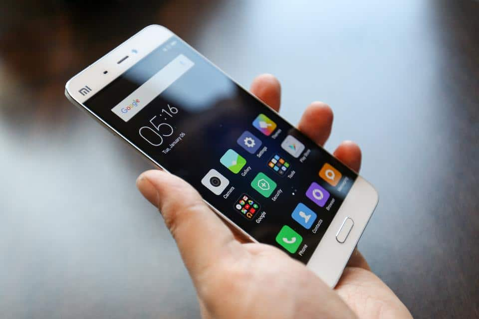 production Xiaomi Mi5