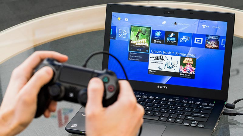 Remote Play PS4 sur PC