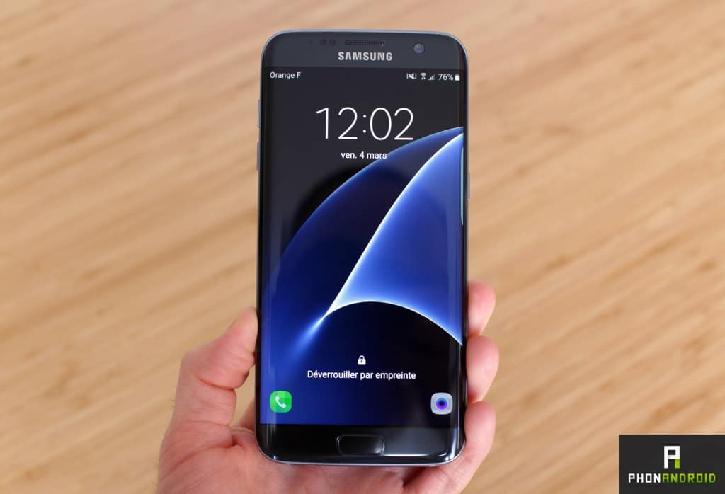 samsung galaxy s7 edge prise main