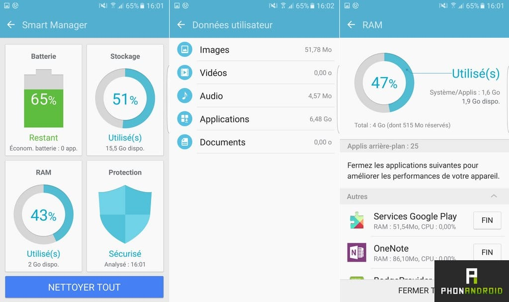 samsung galaxy s7 edge smart manager