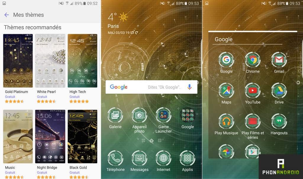 samsung galaxy s7 edge themes