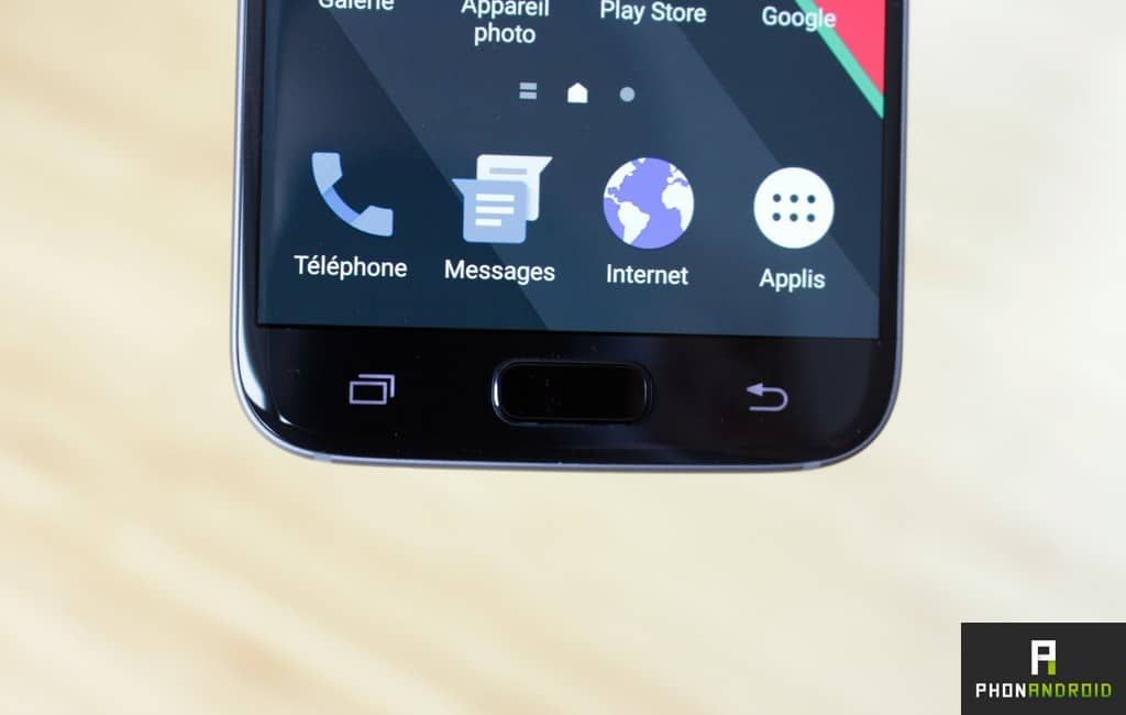 samsung galaxy s7 touche tactile