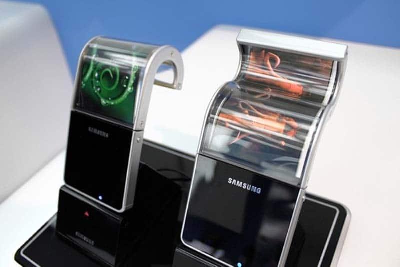 écrans pliables de Samsung