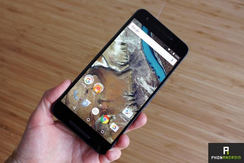 securite android nexus 6P