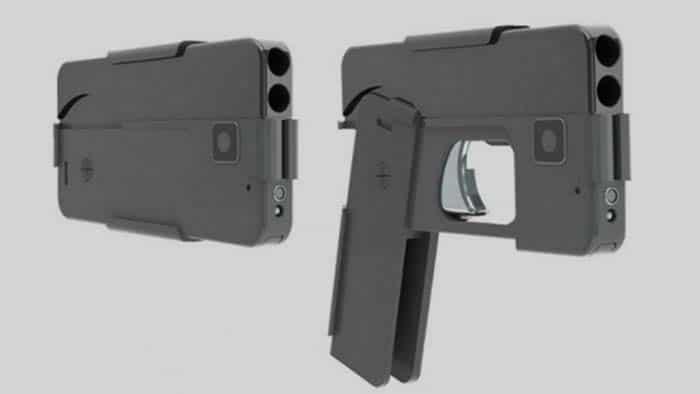 Le pistolet smartphone