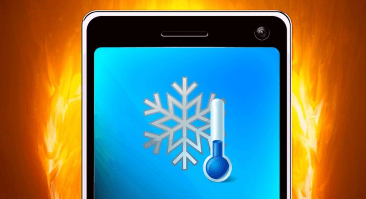 smartphone surchauffe