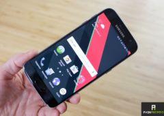 galaxy S7 smartphone plus utilise monde