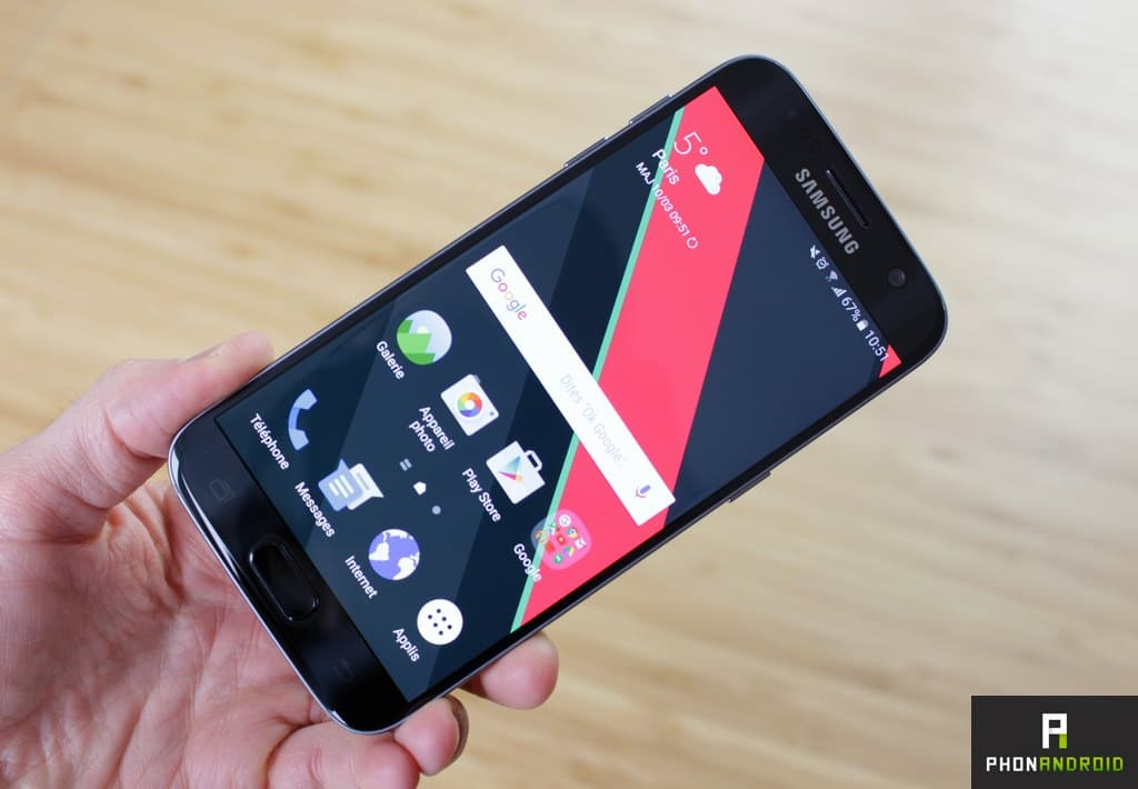 test samsung galaxy s7