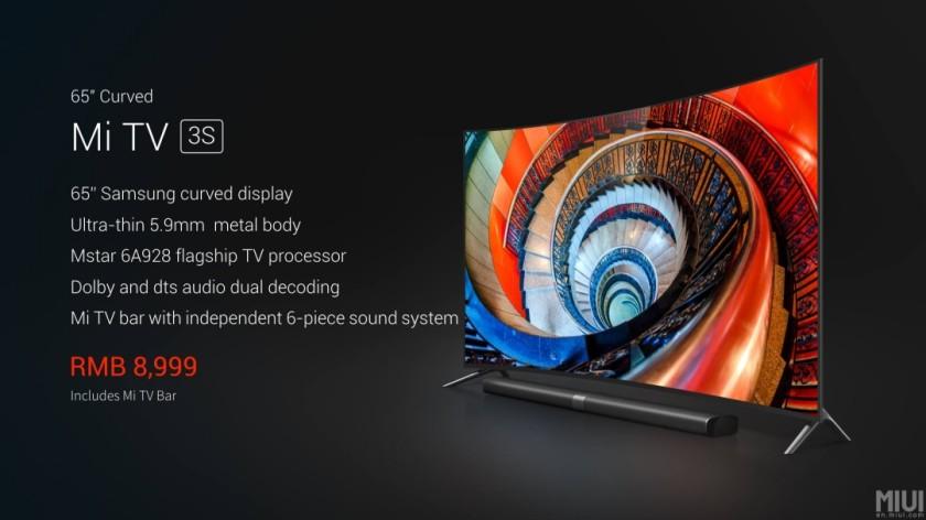 tv-xiaomi-4k-curve-65-pouces-specs