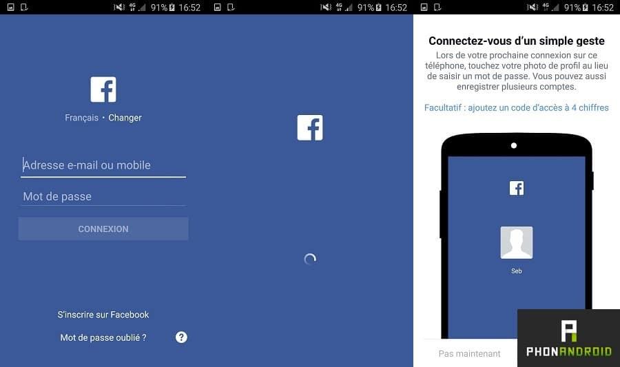 utiliser simultanément comptes sur une application Android